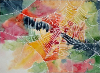 art-paint-painting-spider-web-spider-webs-watercolor-Favim.com-71123